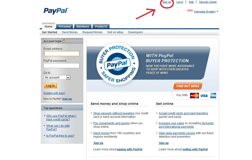 Money paypal account without Solved: Sending