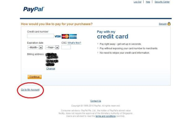How do you get a paypal credit card / T mobile phone top up